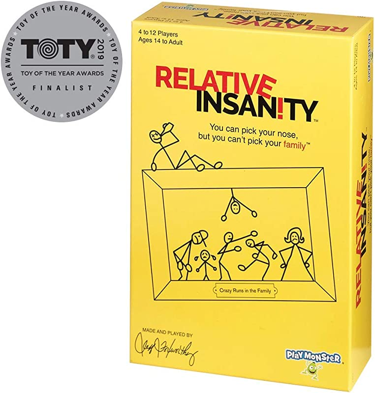 Relative Insanity Party Game About Crazy Relatives Made Played By Comedian Jeff Foxworthy