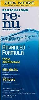 Bausch & Lomb renu Advanced Formula Multi-Purpose Solution-12 oz, 2 pack