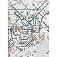 東京カートグラフィック 鉄道路線図ノートB5首都圏日本語 RNBSJ