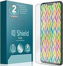 IQ Shield Matte Screen Protector Compatible with LG V40 ThinQ (Max Coverage)(2-Pack) Anti-Glare Anti-Bubble Film