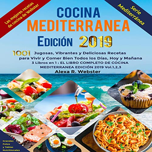 Cocina Mediterránea Edición 2019 [Mediterranean Cuisine Edition 2019] audiobook cover art