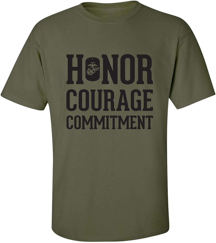 zerogravitee Honor Courage Commitment Adult Short Sleeve T-Shirt