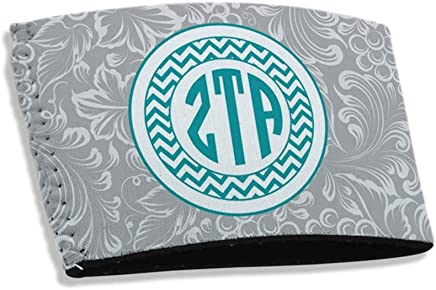 Express Design Group Greekgear Zeta Tau Alpha ZTA Coffee Sleeve