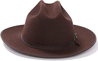 Stetson Men's 6X Open Road Fur Felt Cowboy Hat - Sfoprd-052661 Silver Belly