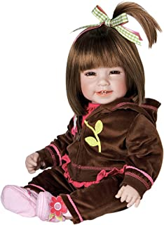 "Adora Toddler Workout Chic 20"" Girl Weighted Doll Gift Set for Children 6+ Huggable.."