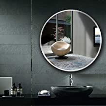 ouying1418 Modern 3D 15X15cm Bathroom Self Adhesive Mirror Tile Square Wall Stickers,White,16PCS 0.2mm