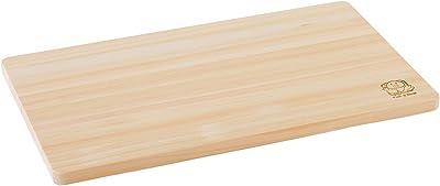 池川木材 まな板 桧 中 42×24×1.3cm