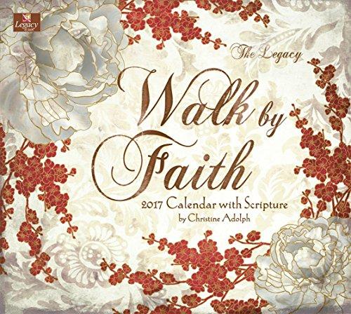 Legacy Publishing Group 2017 Wall Calendar, Walk by Faith