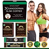 PureGano Ganoderma Slimming Weight Loss & Detox Coffee - 100% Natural Arabica Black Instant Coffee -...