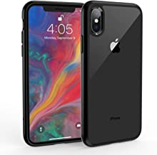 Syncwire UltraRock - Custodia protettiva per iPhone X e iPhone X, con tecnologia avanzata contro le cadute e cuscino d'aria, per Apple iPhone X/10 (2017), colore: Nero opaco