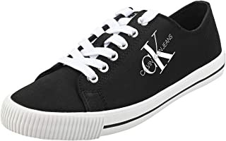 Calvin Klein Diamante Low Top Lace Up Womens Fashion Trainers