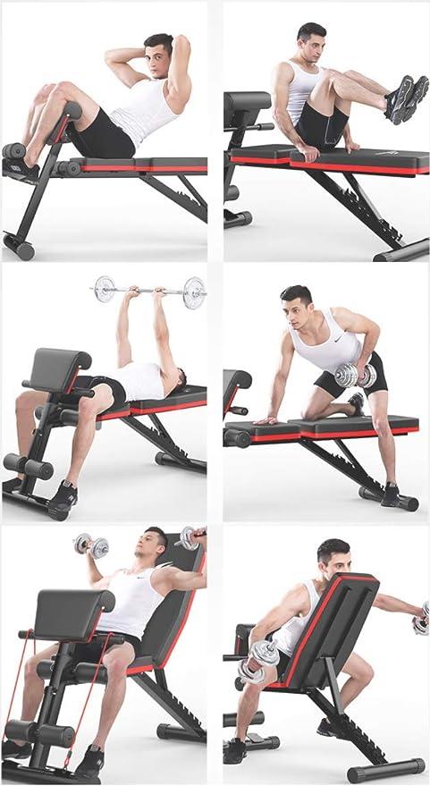 Banco de Pesas Ajustable para Fitness,nimo Banco de ...