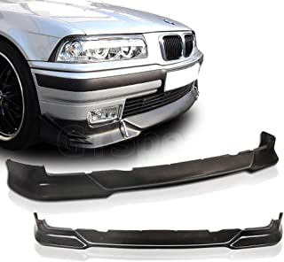 GT-Speed for 1992-1998 BMW E36 3-Series M-Tech Style Front PU Bumper Lip (Not Compatible With M3 / M-Tech Bumper)