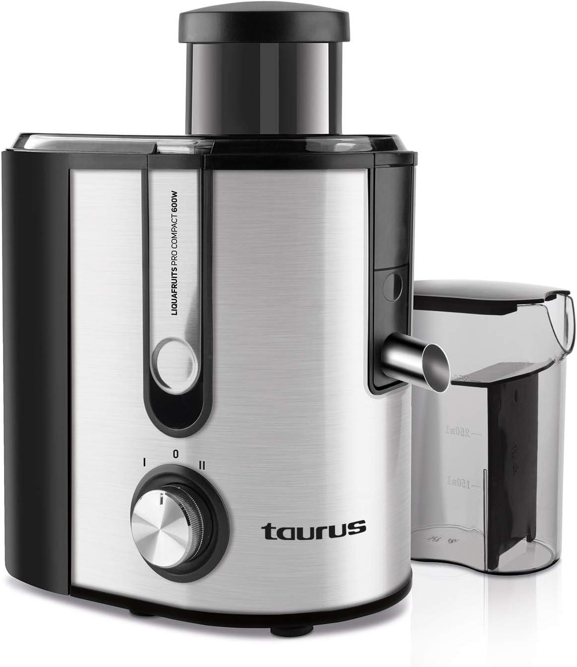 Taurus Pro Compact Licuadora centrífuga, INOX