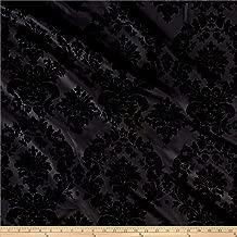 Best black damask fabric Reviews