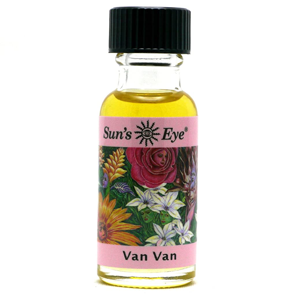 分離あまりにもそうでなければ【Sun'sEye サンズアイ】Specialty Oils(スペシャリティオイル)Van Van(ヴァンヴァン)浄化と成功
