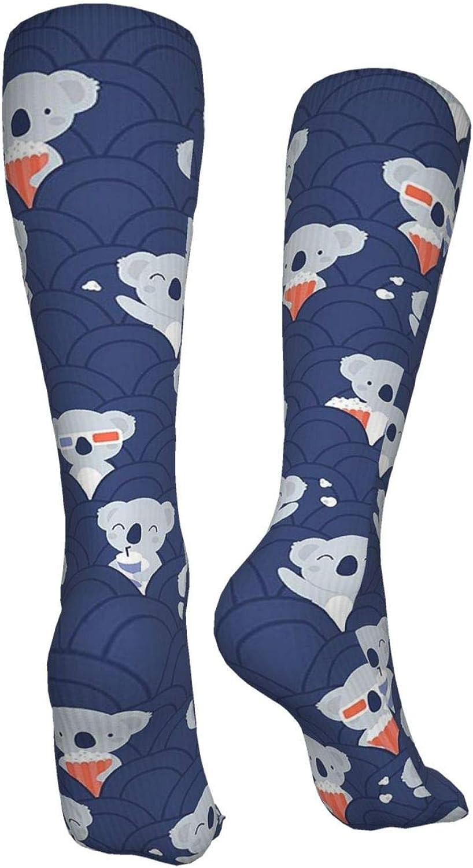 Cinema Koala Women Premium High Socks, Stocking High Leg Warmer Sockings Crew Sock For Daily And Work