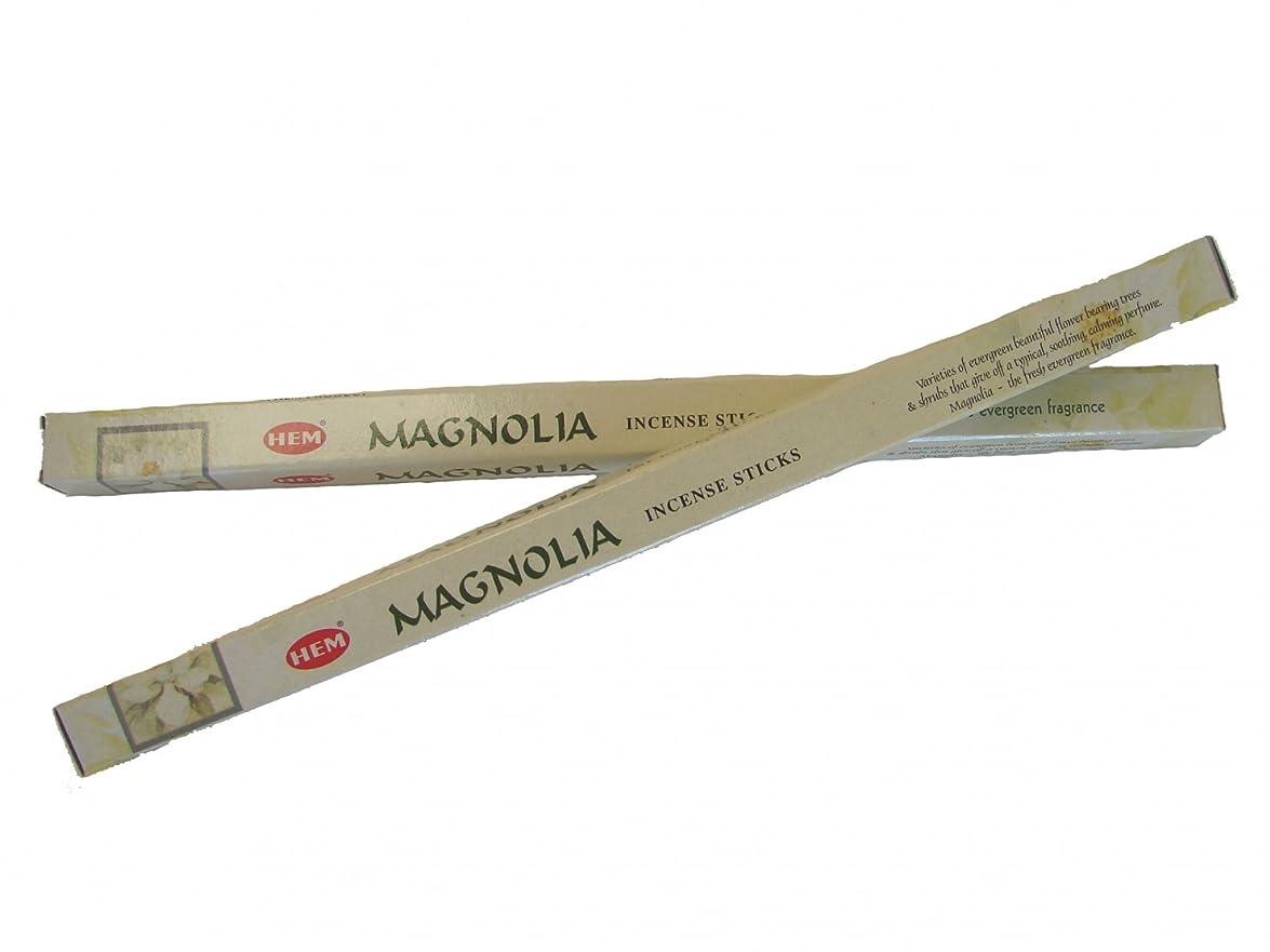 遠足痛み食い違い4 Boxes of Magnolia Incense Sticks