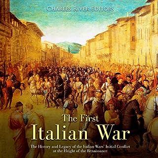 The First Italian War audiobook cover art