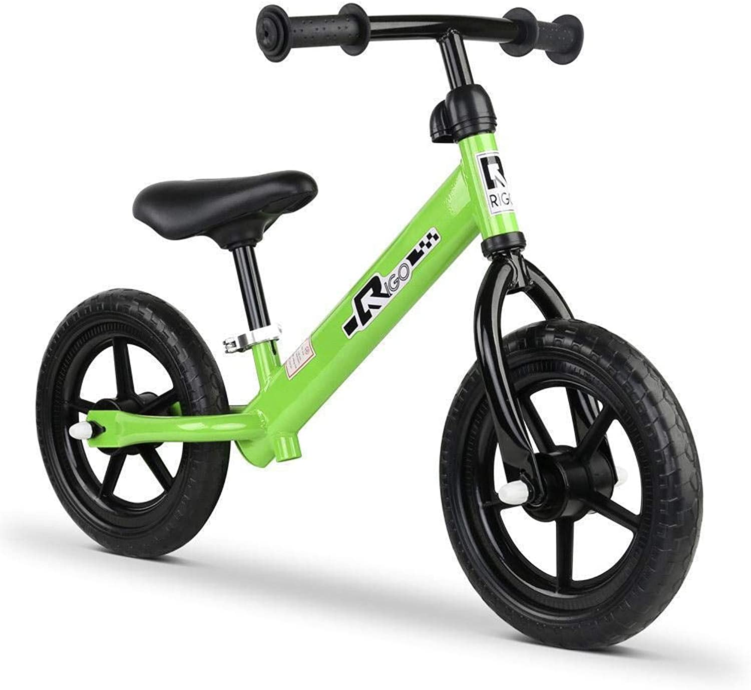 Rigo 12 Inch Kids Balance Bike  Green