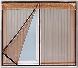Horrennet magnetisch Anti Mosquito Bug Insect Fly Window Screen Mesh Net Gordijn Geen boren Eenvoudige installatie Ventile...