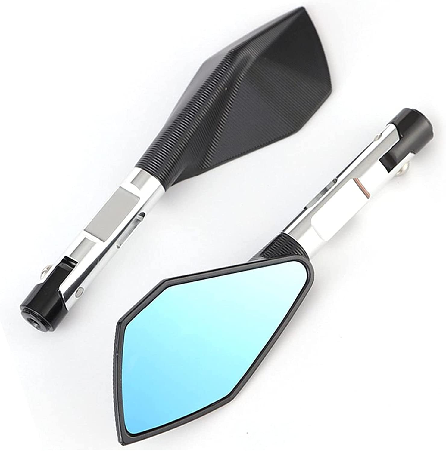 ALUNVA Motorcycle Max 63% OFF CNC Aluminum Rear Mirrors Side Rearview M View Under blast sales
