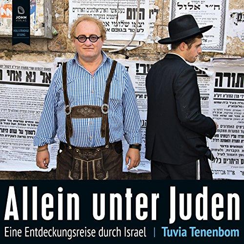 Allein unter Juden audiobook cover art