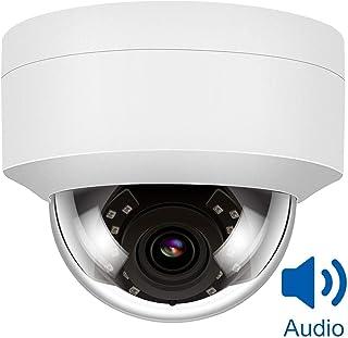 Camara Vigilancia Anpviz 5MP H.264/ H.265 IR Camera IP PoE Camera IP Security Camera Night Vision 98ft Motion Alert Weatherproof IP66 ONVIF Camaras Seguridad