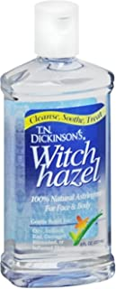 Dickinson's Witch Hazel All Natural Astringent 8 oz (Pack of 4)