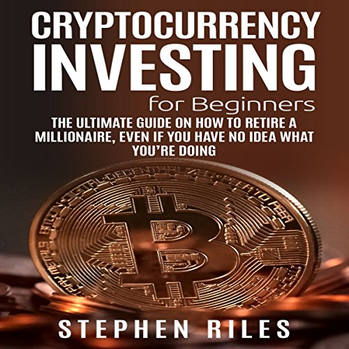 Cryptocurrency Investing for Beginners audiobook cover art