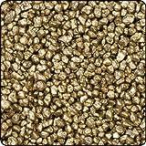 Season - Granulato decorativo in granulato di granulato di colore oro giallo, 1 kg
