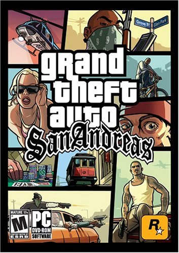 Grand Theft Auto: San Andreas ( DVD-ROM ) - PC by Rockstar Games