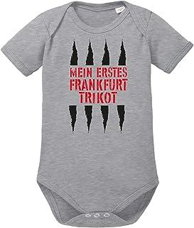 clothinx Mein Erstes Frankfurt Trikot Für Fussball Fans Baby Body Bio