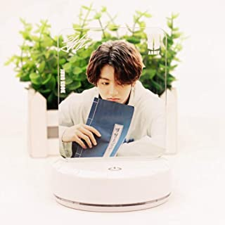 Lmpara de mesa Bangtan Boys 2019 Summer Package en Corea, LED, luz nocturna, lmpara de noche, Touch regulable, 7 colores cambiantes, lmpara de escritorio con cable USB
