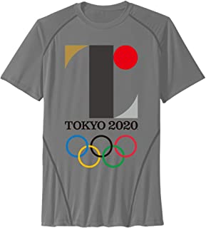Men's 2020 Summer Olympics Tokry Sport Quick Dry Short Sleeves T-Shirt