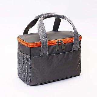 Bolsa acolchada de gran tamaño para enfriador de almuerzos fuera de la bolsa impermeable de picnic, la bolsa de almacenamiento de comestibles del auto para hombres Bebida y el radiador con aislamiento