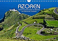 Azoren (Wandkalender 2022 DIN A4 quer): Bilder von den Azoreninseln (Monatskalender, 14 Seiten )