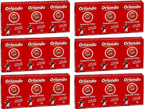 Orlando Tomate Frito Gebratene Tomaten 210 gr. - [Packung mit 18]