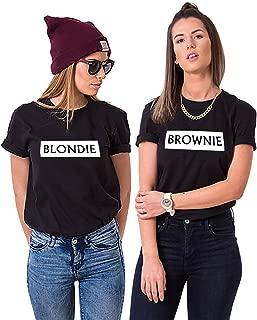 brownie and blondie shirts