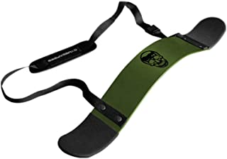 Gymreapers Bicep Arm Blaster -Thick Aluminum Support Bicep Curl Isolator w/Contoured, Padded Edges - Adjustable Bicep Bomb...
