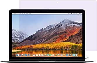 PERFECTSIGHT Anti Glare Blue Light Filter Screen Protector for MacBook 12 Inch 2015 2016 2017 with Retina Display A1534 - Anti Fingerprint Smudge