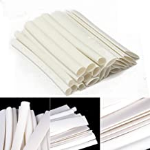 20 pcs White Heat Shrink Tubing Wire 100mm 3/4:1 for iPhone/Android Data Cable