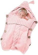 Newborn Baby Swaddle Blanket-Truedays Large Swaddle Best Soft Unisex for Boys or Girls (Pink)