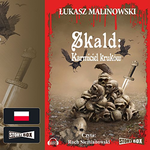 Karmiciel kruków (Skald 1) audiobook cover art