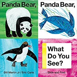 Panda Bear Panda Bear What Do You See Slide and Find