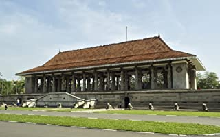 Posterazzi Independence Memorial Hall Cinnamon Gardens Colombo Central Province Sri Lanka Poster Print (40 x 24)