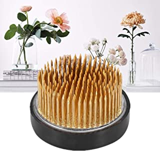 Arrangement Floral Rond Pin Ikebana Kenzan Décoration Florale Fixe Outil Arrangement Arrangement Floral Pin Hodler(6CM)