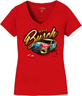 SMI Properties Ladies Kyle Busch 2019 Sponsor Car Womens NASCAR T-Shirt