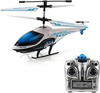 RC Helicopter, KOOWHEEL Rremote Control Helicopter with Gyro 3.5 Channel Hobby Alloy Mini Infrared RC Plane, Toys Gifts for Kids Adults