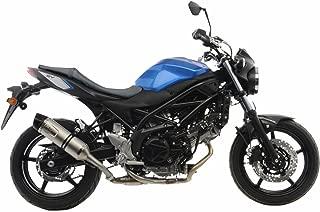17-18 Suzuki SV650: Leo Vince LV One EVO Slip-On Exhaust (Stainless Steel)